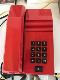 TELEFONO ROJO pequeño